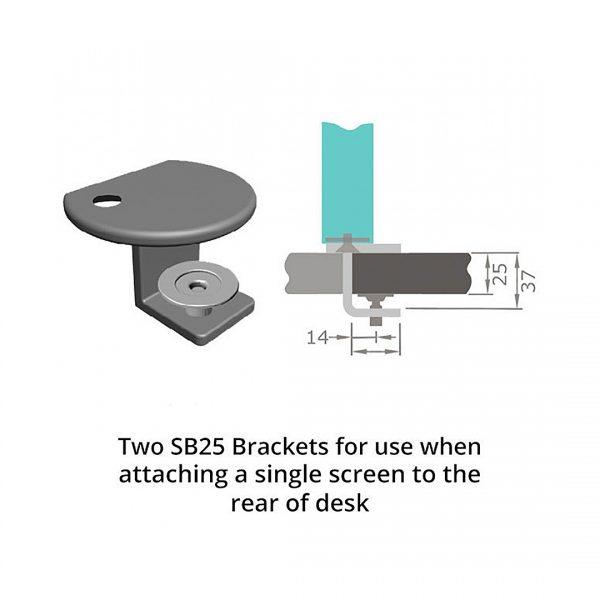 SB25 Brackets