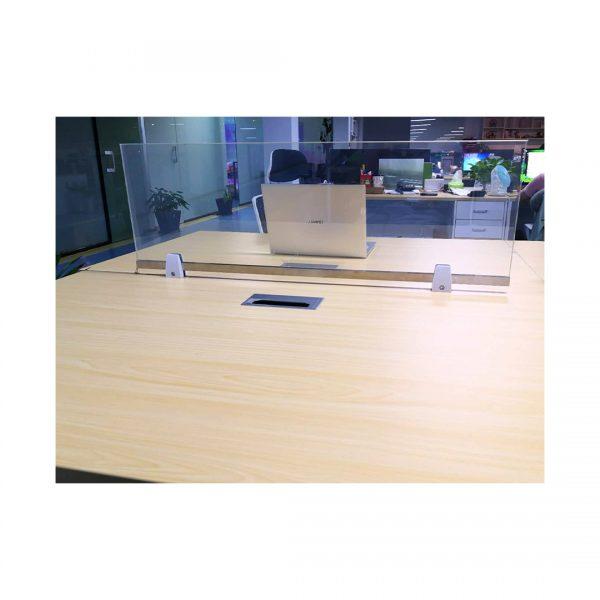Priviglaze Smart Glass Desk Divider Clear